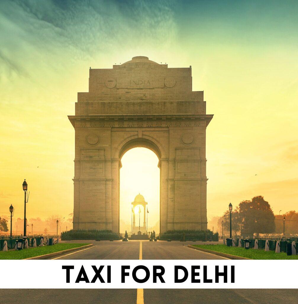 taxi for Delhi