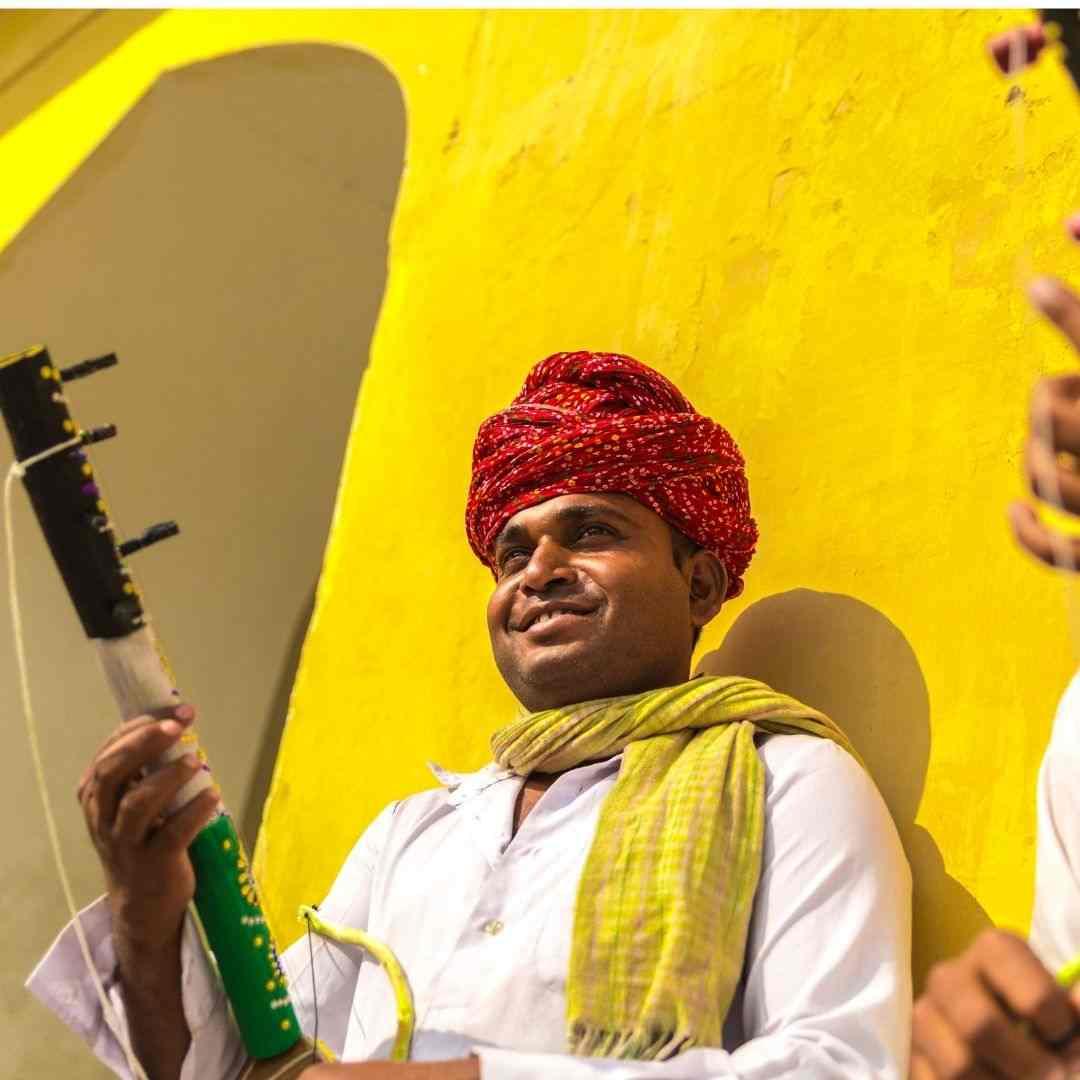 Rajasthani musician