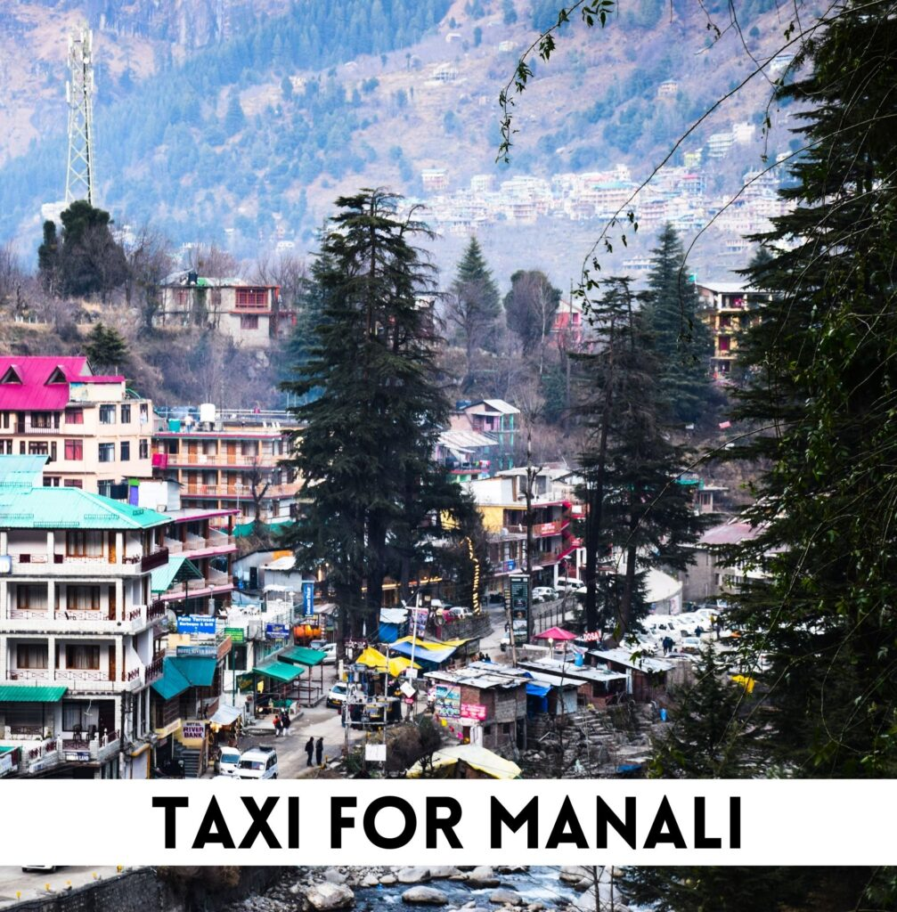 taxi for manali