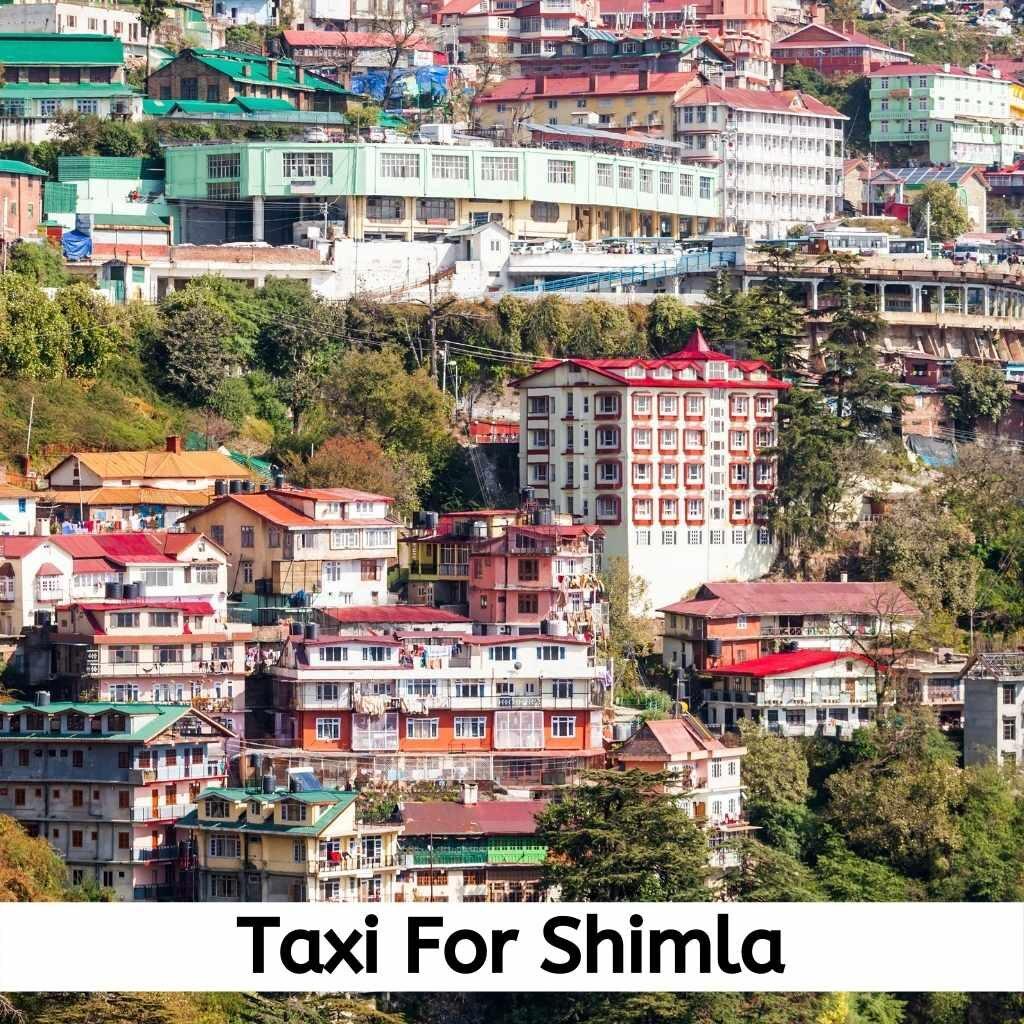 taxi for Shimla