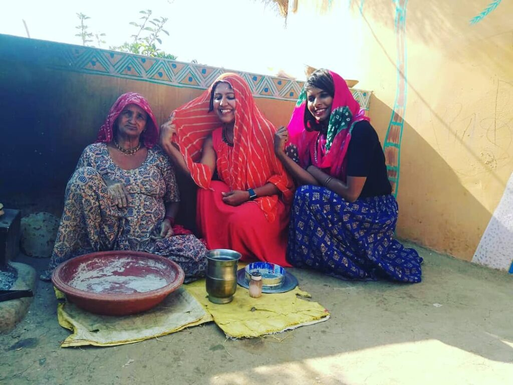 food tradition of village